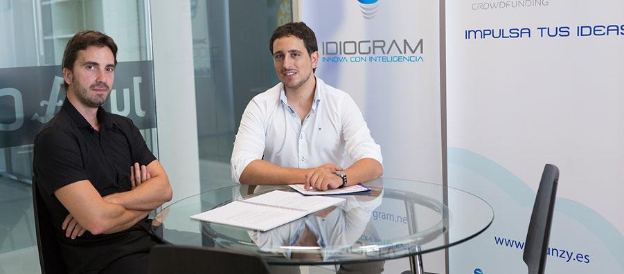 Emprendedores de Idiogram en La Terminal