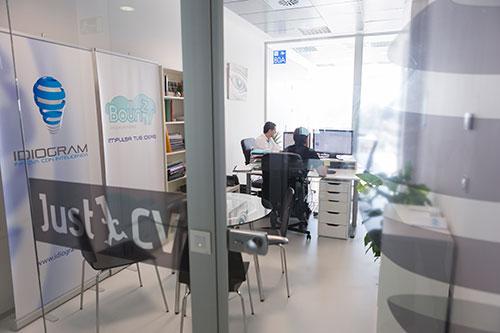 Just1CV proyecto instalado en La Terminal