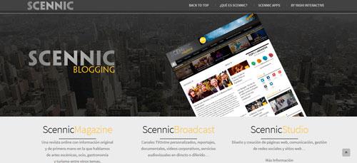 Scennic servicios de marketing digital en La Terminal de Etopía