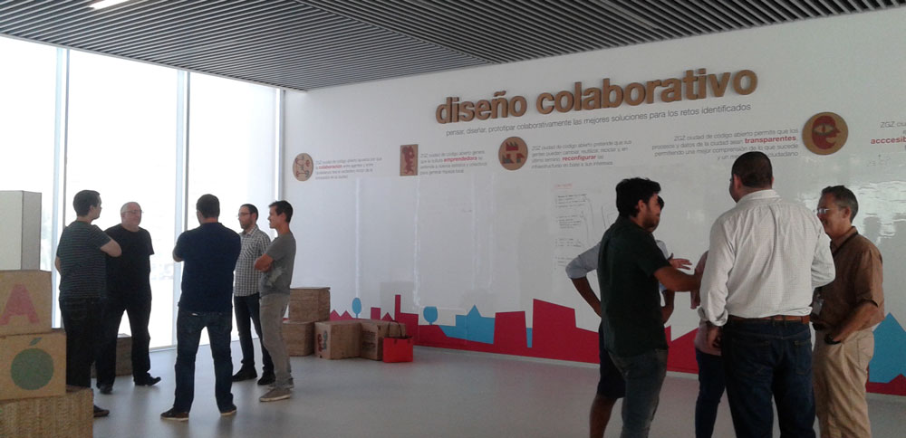 Trabajaremos en grupos en un espacio pensado para el diseño colaborativo :)